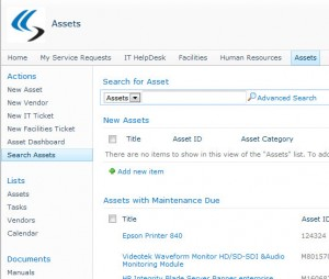 Asset Management for SharePoint