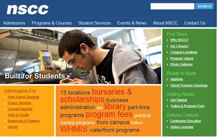 Nova Scotia Community College and SharePoint