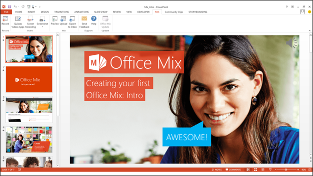 Office 365 Apps Mix