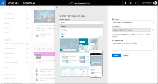 Office 365 Comm Sites