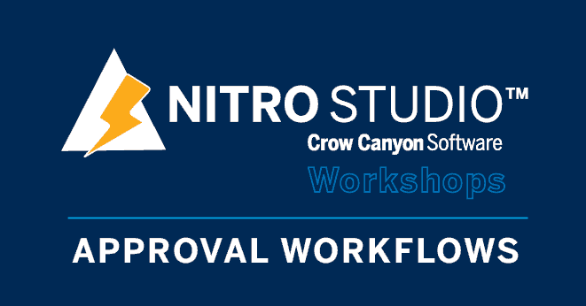 Approval Workflows Workshop
