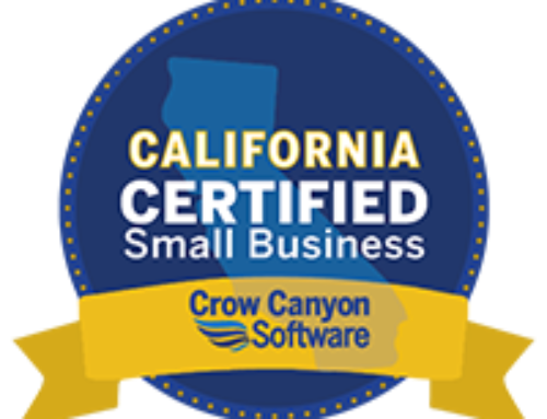 Crow Canyon Software Now a California Certified Small Business