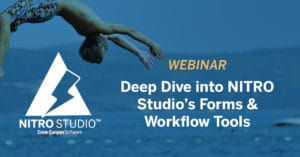 Deep Dive on NITRO Studio's Forms and Workflows