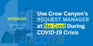 Request Manager for free for COVID-19
