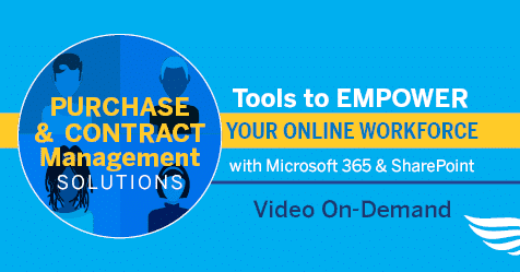 Tools to Empower Your Online Workforce: Purchase & Contract Management