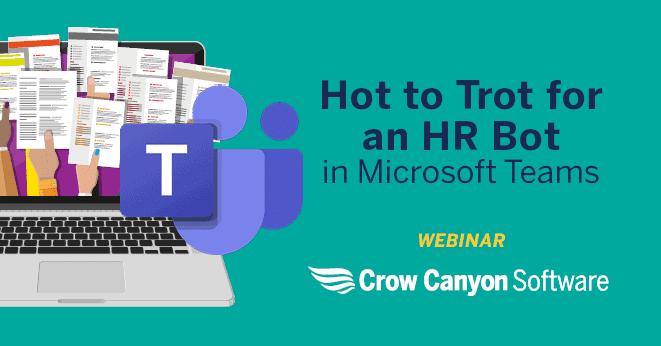 HR Bot: HR Request Management in Microsoft Teams
