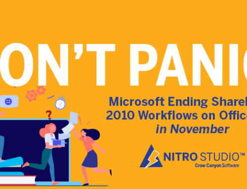 Microsoft Ending SharePoint 2010 Workflows on Office 365 in November – Don't Panic!